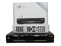 Original satellite decoder Azfox S3S with IKS Dongle & WIFI USB Antenna