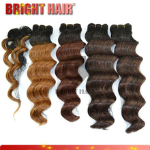 new products 5pcs wholesale hair loose synthetic hair