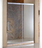 elegant glass shower partition for shower room