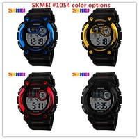 China wholesale skmei 50M waterproof fashion sport digital custom watch face with promotional price