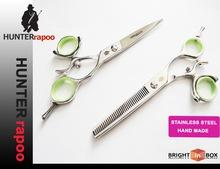 """6.0"""" profesional de la belleza para el cabello salón de corte tijeras conjunto, jp 440c rotativo de la mano de barbero tijeras"""
