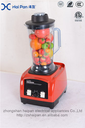 High Performance Commercial the best blender with 4 speeds and dry mill