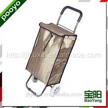 folding trolley luggage european printed shopping bags