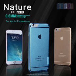 NILLKIN Ultra Thin Transparent Nature TPU Case For iPhone 6 Plus MT-2497