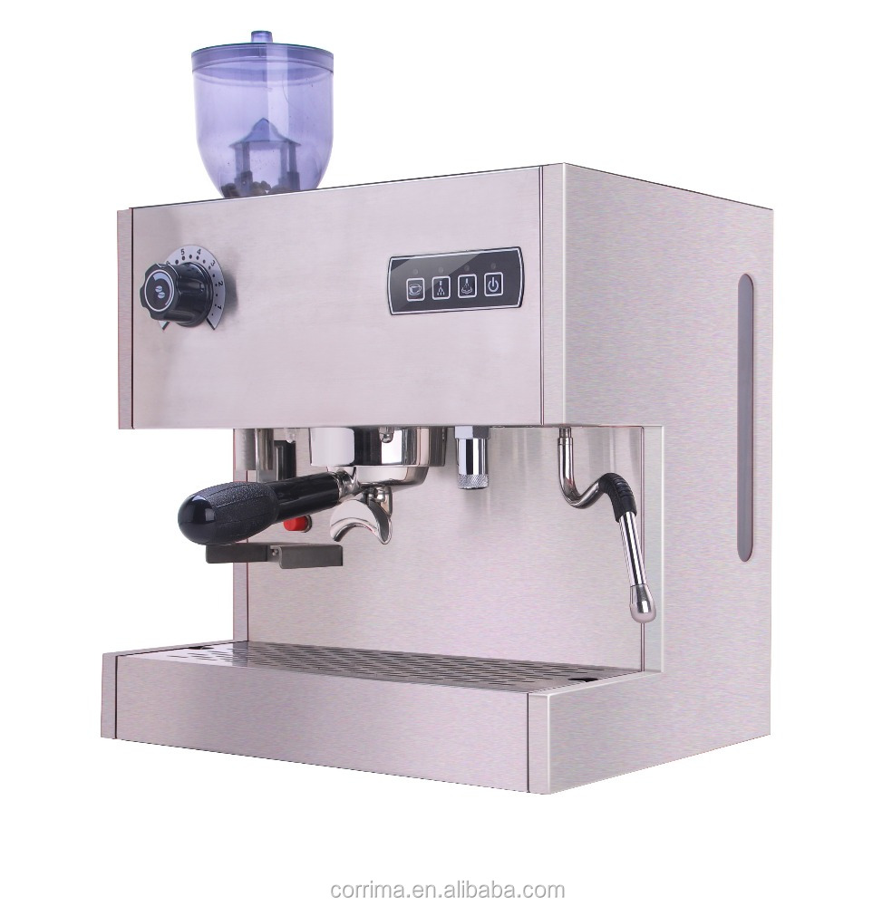 Single Serve Espresso Coffee Brewer Maker With Bean Grinder With Ce/rohs Certificate - Buy ...