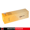foldable cosmetic box for false hair packaging with window