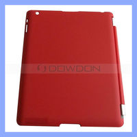 Magnetic Leather Smart Case for iPad with Matte Hard Back Case