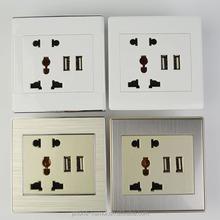 Tipos de colores de interruptores eléctricos, Usb interruptores de la pared