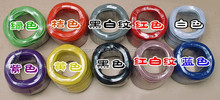 FOR EDISON BULBS COLOURFUL 2 CORD electrical wire