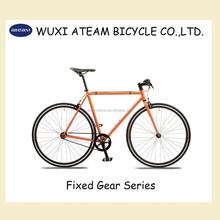 Ateam Beginner Orange BMX Style Single Speed Fixed Gear Bike