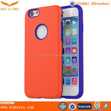 Mobile phone case cover for iphone 6, TPU+PC cover for iphone 6
