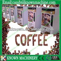 3 hot premixed coin operated mini coffee vending machine
