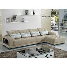 latest leather lounge / french style white leather sofa / L shape leather sofa singapore