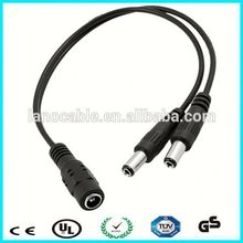 3.5mm extension dc to dc splitter cable