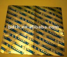 Best price gutkha vmch coating aluminum foil paper