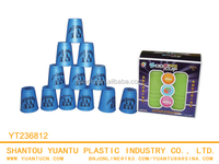 Educational Funny Stacking Cup Baby Make Speed Stacking Cups