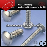 Carriage Bolts round head Square Neck Bolt
