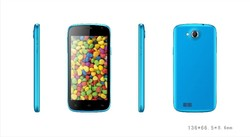 China cheapest 3g android phone mobile 4.5 inch dual core android 4.2 smart phone and mobile phone