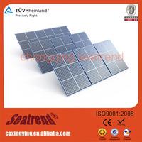 270W Semi-flexible High efficiency&reliability 1KW Pv Solar Panel