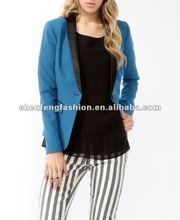 CHEFON Satin collar fashion women blazer CFB0084