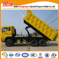 Dongfeng dump truck 340hp 6X4 three axles 10 wheels for sale