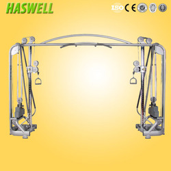 gym machine cable crossover/indoor fitness exercise equipment