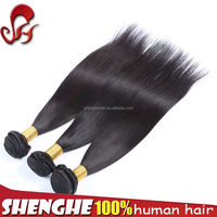 Grace beauty hair products high quality Chinese silk straight pussy with hair