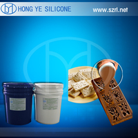FDA candy molding silicone/ food grade silicone rubber for candy molds making