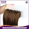 alibaba express 100 human hair tapes on hair extensions