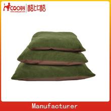 polar fleece wear resistant pet microfiber mat/mattress/pet and mat