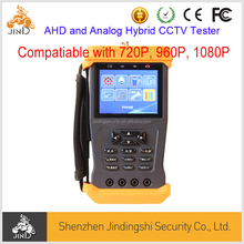 Compatiable 720P 960P 1080P AHD and Analog Hybrid Security CCTV Tester
