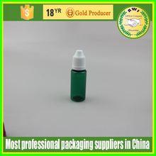 piccoli contenitori in plastica della bottiglia contagocce vuoto usato 15ml bottiglia di plastica fornitore produttore