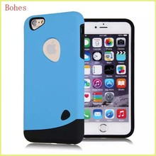 2015 New Style cobble combo case for iphone6, tpu&pc case for iphone6