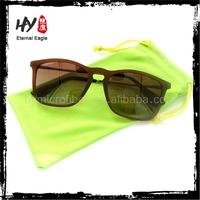 microfiber eyeglass drawstring pouch,small microfiber bag,cute kids sunglasses pouch