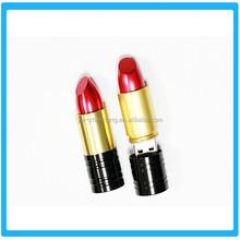 lipstick pendrive flash stick Fashion Promotional LOGO print personalized USB