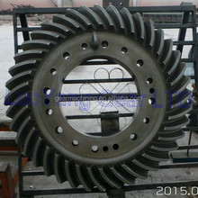 Spiral Bevel Gears with circular arc gear teeth