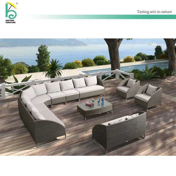 Cane Outdoor Furniture Patio Setting L Shaped Rattan Sofa Buy L Shaped Rattan Sofa L Shaped