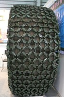 WA380 tire protection chain for wheel loader