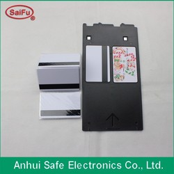 Instant PVC Card Material /Inkjet card/smart card with magnetic stripe
