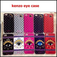 NEW Hot KENZO Eye Case Cover for Apple iPhone 4/4S/5/5s,Kenzo case