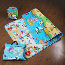Food Grade PE Film Surface Factory Price Non-toxic Material and Eco-Friendly Baby-Crawling Mat