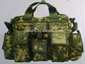 Woodland camuflaje digital satchel bolso de mano para los militares& del ejército