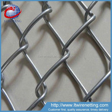Anping galvanized and pvc coated used chain link fence panels for gates
