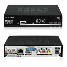 HD TV satellite receiver sclass T3 similar to azamerica s1001 with twin tuner support 3G gprs