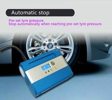 Electric tire air pump Car electric inflator Tire inflator with hose in tire inflator