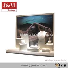 J&M design jewelry displays stands big backboard