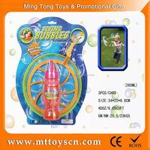 factory wholesale Bubbles transparent spider-man flash three light bubble gun
