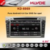2 din opel astra h car radio dvd gps navigation system with wireless mirror link FM AM