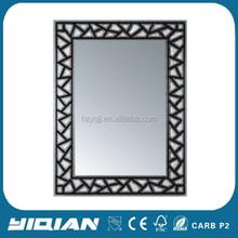 Modern design hot sell plastic bathroom mirror set
