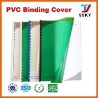 Clear white for hard plastic sheet film to make book cover